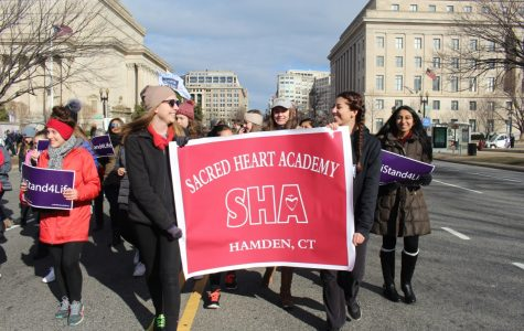 SHA Takes March for Life 2017