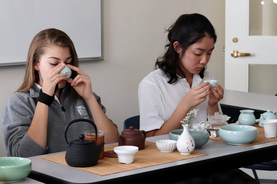 Chinese Club offers students opportunities to learn about traditional customs from China.
