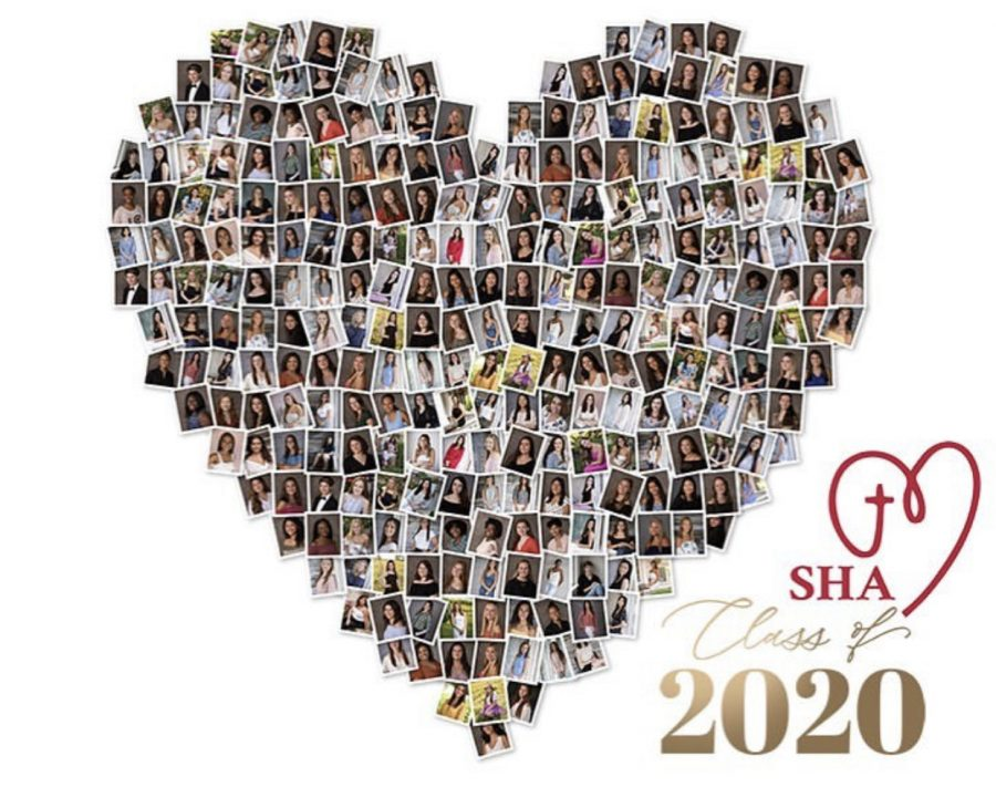 Class+of+2020+photos+in+a+heart+shape